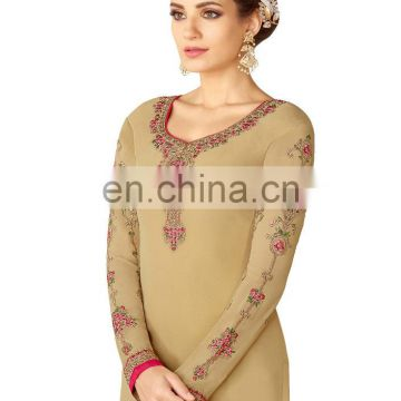 Women's Casual Wear Semi-Stitched Shalwar Kameez Designs 2017