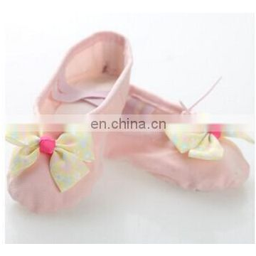 Girls ballet shoes Ballet shoes Soft dance shoes Bowknot ballet shoes Wholesale dance shoes X-8051#