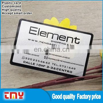 wholesale alibaba quality plastic pvc name card transparent business card printing - Name Card Printing
