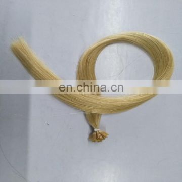 Wholesale Full Cuticles Kept Intact Thin 613 Blonde Pre Bonded Virgin Hair Hight Quality Keratin Flat Tip Hair Extension