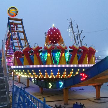 funland adult amusement park attractions flying ufo rides with high quality