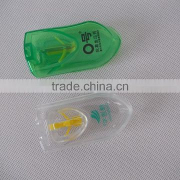 plastic pill box with cutter pill case 330550