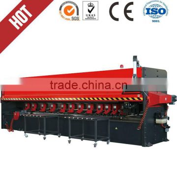 4000mm grooving lathe CNC metal plate v-cutting Four-axis High-Speed Numerical Control metal sheet Notching Machine