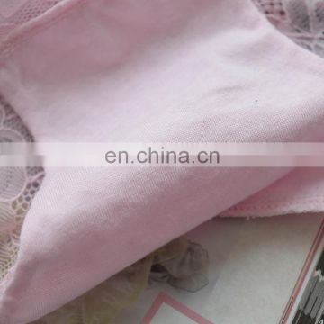 Hot Sales Lady Girls Pink Sexy Healthy Lace Lingeries Underwear of Women