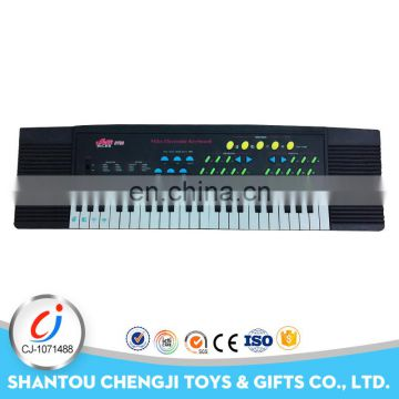 Cool plastic children musical toy electronic keyboard piano