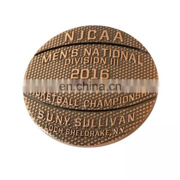 Embossed sign souvenir gold fake coin OEM design low price zinc alloy coin