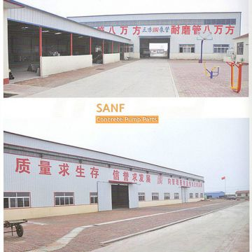 SANF concrete pump parts