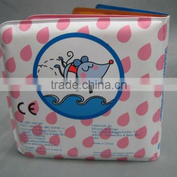 2015reach standard low melting point packing substitute bags Clear EVA Bath Book EVA Bath Book For Children