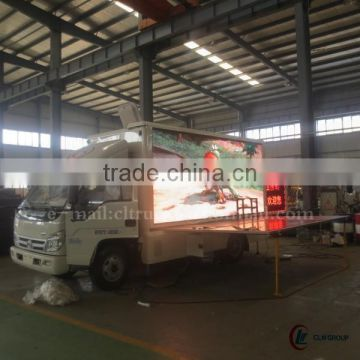 P8 fullcolor screen 4*2 FORLAND LED Advertising Truck for sale