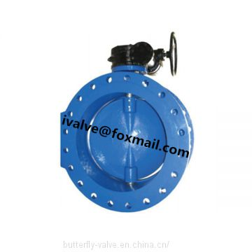 Flanged Double Eccentric Butterfly Valve