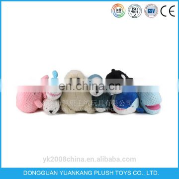 Total body plush seal toy pillow
