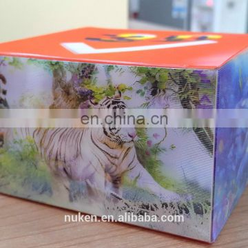 2017 newest best selling 3D effect packaging box