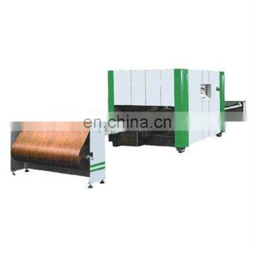 Excellent MWJM-01 doors wood texture transfer printing machine