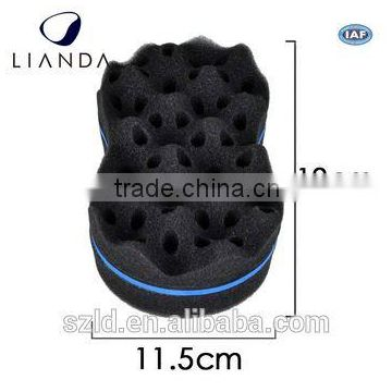black color hair twist sponge,hair brush sponges for free samples,hair twists curling sponge