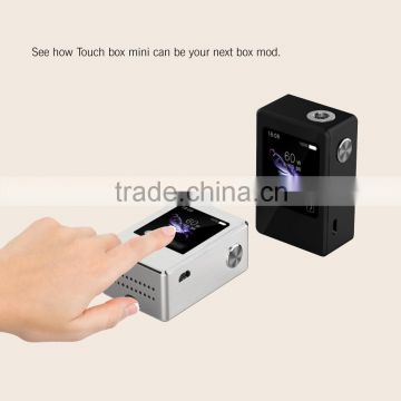 2016 new style electronic cigarette SMY 100w VW/TC touch screen box mod