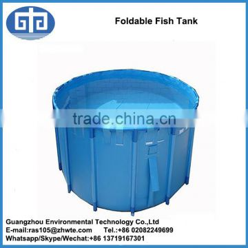 Flexible fish tank and Foldable PVC tarpaulin for sale of