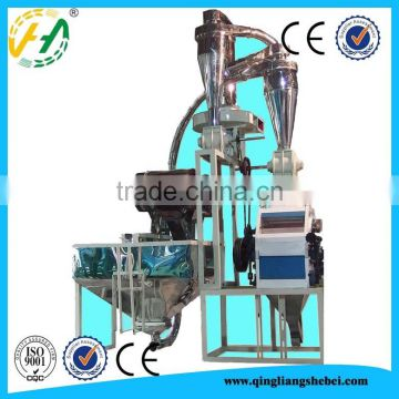 European standard fully automatic 500tpd wheat flour mill with price