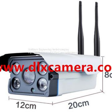 720P Outdoor Weather-proof Wireless WI-FI IP IR Bullet Camera