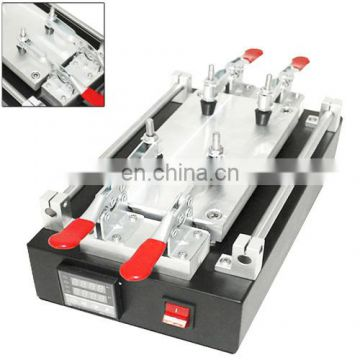 Metal Housing Touch Screen Panel LCD Separator Glue Disassemble Machine with Dual Switch for iPhone