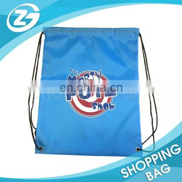 Cheap Reusable Custom Promotional Printing 210d Polyester Drawstring Backpack