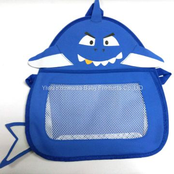 Multi Cartoon Animal Hanging Mesh Storage Bath Toy Bag Tidy Organizer ...