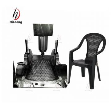 Hot sales 2017 new products mould injection plastic rattan chair mould