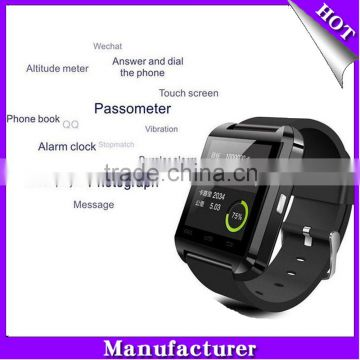2016 best sell MTK android smart bluetooth watch smart watch phone smart watch gt08 a1 u8 dz09