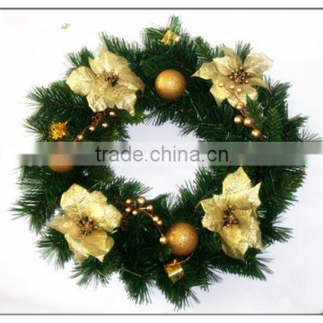christmas garlandchristmas wreathchristmas floral hoopblank green plastic artificial wholesale christmas - Christmas Wreath Decorations Wholesale