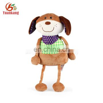 2017 Best Made Plush Dog Toys Wholesale Soft Stuffed Animal Dog Custom Plush Dog