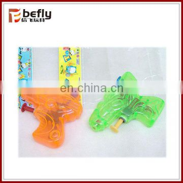 Low price transparent summer toy water gun