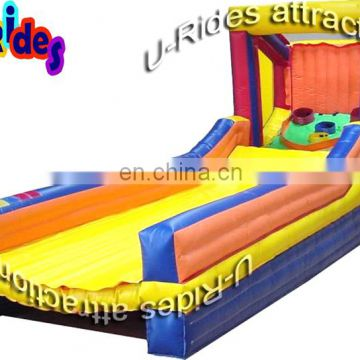inflatable pony ride racing game