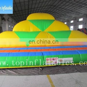 Newest inflatable king of the mountain,inflatable outdoor sport,inflatable jumping mountain