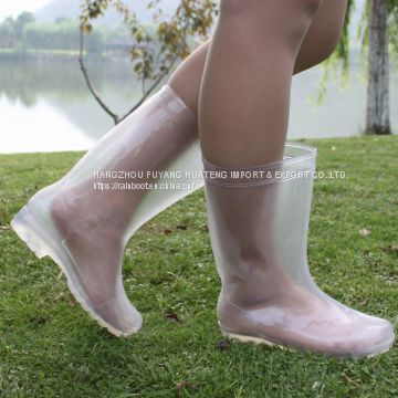f721bccd1e19 Transparent Women Rain boots,Transparent New fashion Women rain boots,Style  Lady PVC boots of PVC rain boots from China Suppliers - 158719494