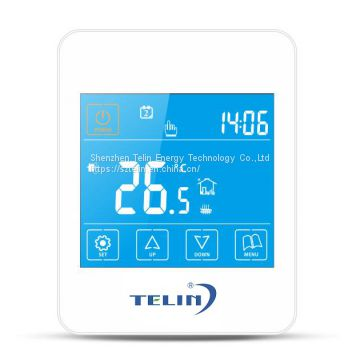 Weekly Programmable LCD Touch Screen  Water Radiant Floor Heating Thermostats