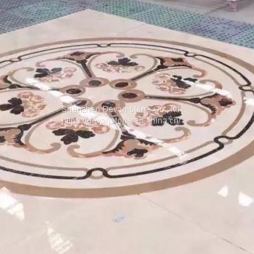 waterjet medallion for floor