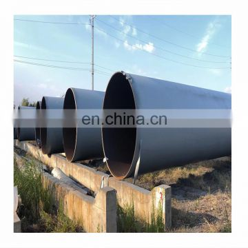 24 Inch Steel Pipe/LSAW Large Diameter Thick Walled Longitudinal Welded Steel pipe/steel Tube for Oil and Gas