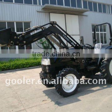 tractor with loader, DQ404, 40HP, 4x4, attachment with 4in1