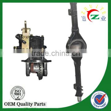 rear axle motor tricycle rear axle handbrake with 60*4 shaft housing
