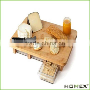 Totally Bamboo Cutting Board Set, 100% Bamboo For Food Prep, Making Cocktails or Serving Appetizers/Homex_Factory