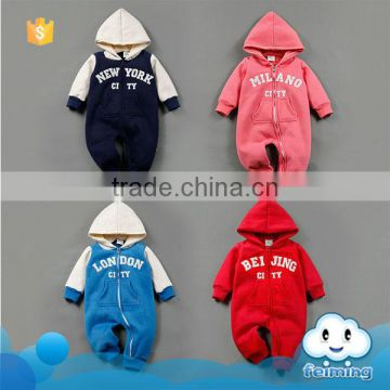 Winter baby wear second hand clothes in uk hooded baby cotton romper pictures bulk sale new york infants romper clothes