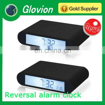 New design LED digital alarm clock pretty alarm clock pretty alarm clock Reversal alarm clock