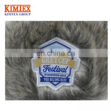 Unisex wholesale winter warm custom faux fur trapper hat