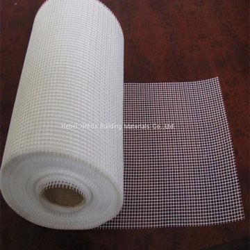 Alkali resistant fiberglass self-adhesive mesh tape for dry wall joint