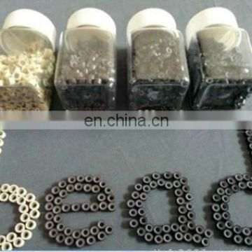 Hottest selling! Top quality silicone micro ring human hair extension bead links