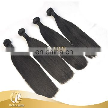 Top quality 110g Double Drawn raw virgin indian hair extensions, human hair straight