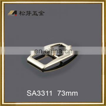logo side release buckle metal logo side release buckle