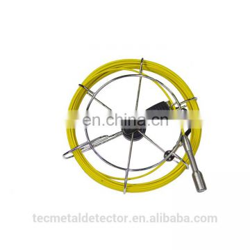 50m fiber glass cable pipe and wall inspection camera with ABS Case TEC-Z710