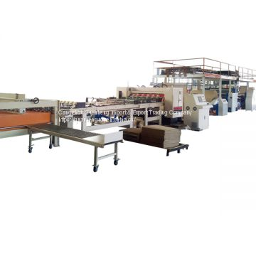 High quality 2ply corrugated paperboard production line / Single facer line