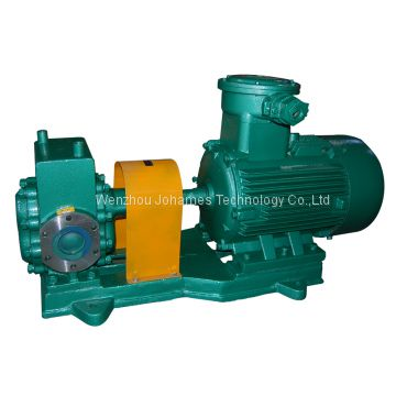 YCB thermal insulation type oil transfer gear pump positive displacement fuel pump