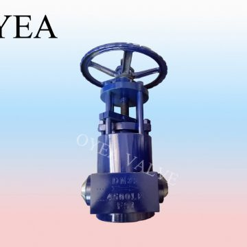 Power Station Pressure Seal Motorized Globe Valve